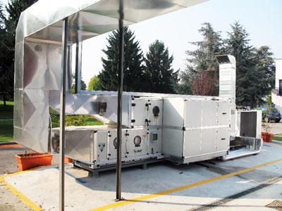 impianti aria climatizzata