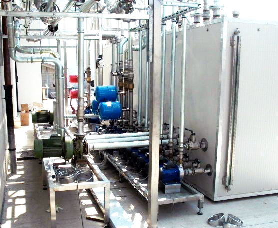 impianti frigoriferi per l'industria
