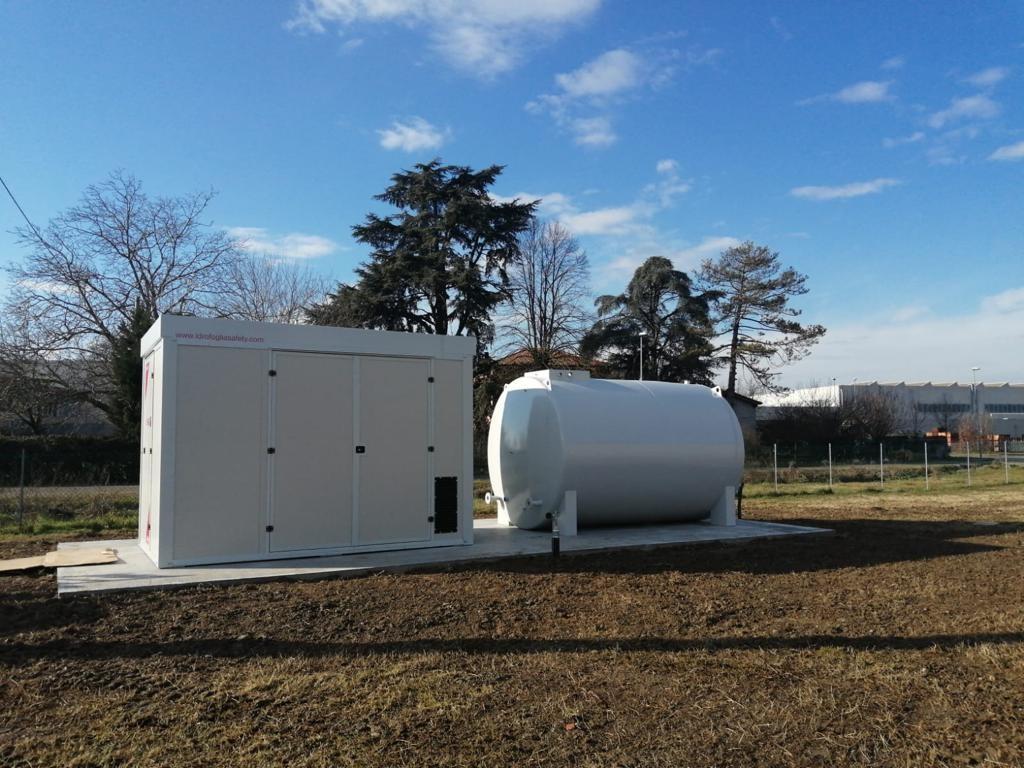 impianto antincendio-pompaggio-rete idrica-impianto elettrico