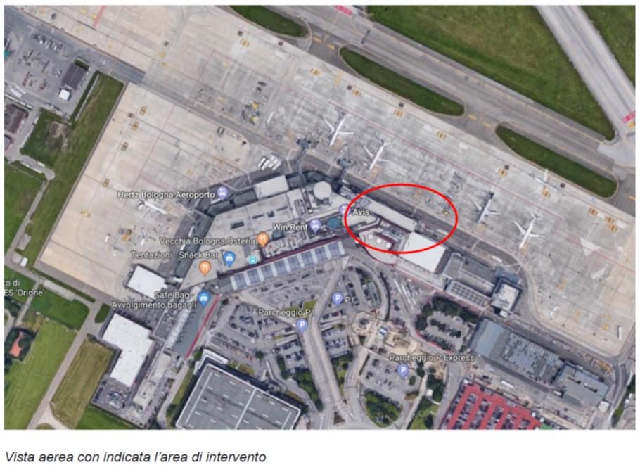 aeroporto marconi-bologna-impianti meccanici-condizionamento-pompa di calore