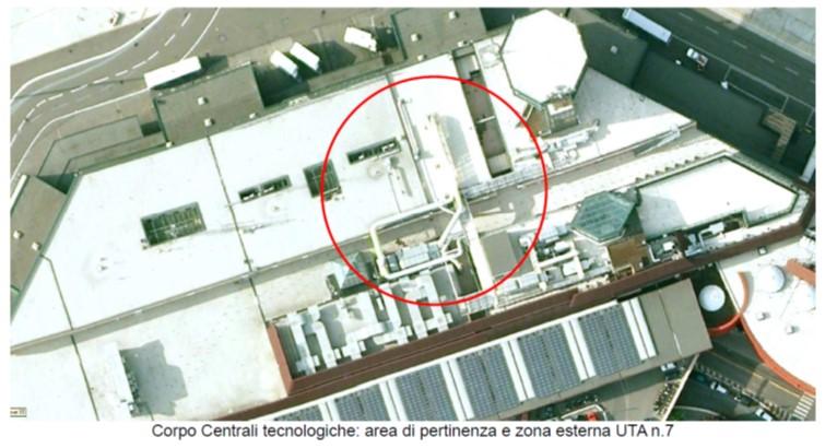 centrali tecnologiche-uta-bl-impianto elettrico-impiato meccanico-climatizzazione