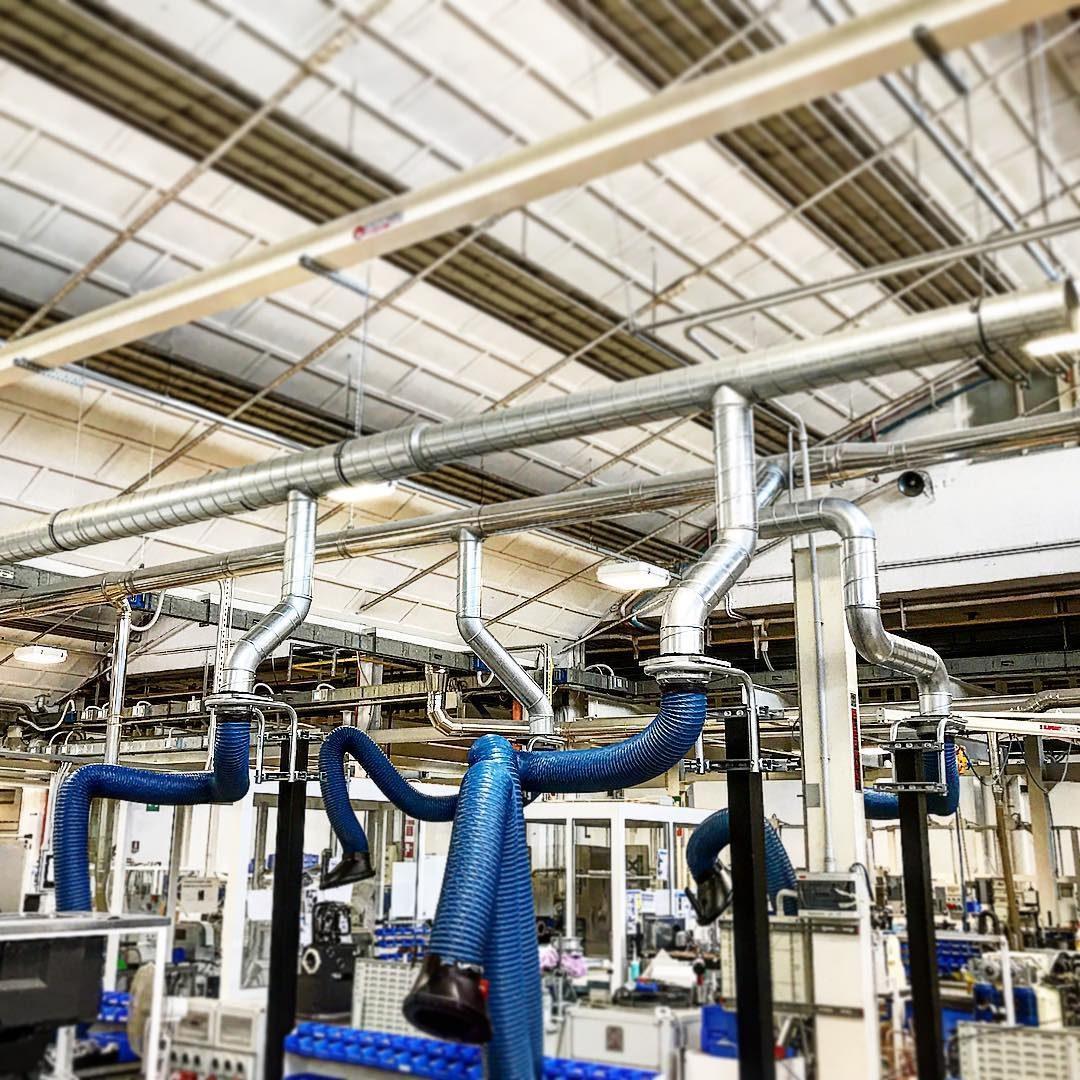 gestione impianto idraulico industriale